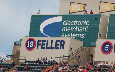 Thanks to the Cleveland Indians for welcoming Electronic Merchant Systems to Progressive Field!